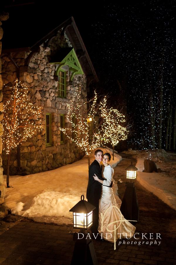 Brad winter wedding